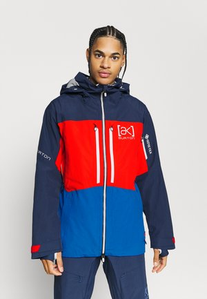 GORE SWASH - Snowboardjacke - dress blue/flame scarlet