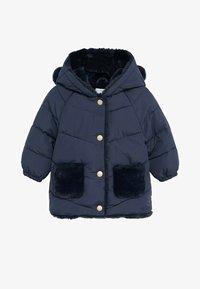 Mango - MARTINE - Zimní kabát - marineblauw - 0