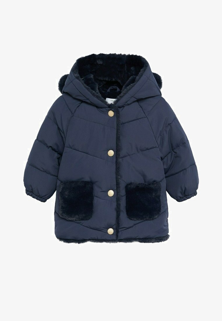 Mango - MARTINE - Winter coat - marineblauw