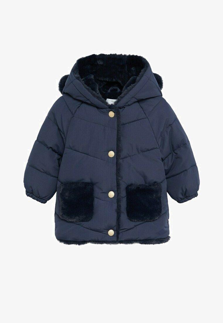 Mango - MARTINE - Zimní kabát - marineblauw