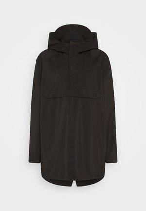 MORAINE PONCHO - Waterproof jacket - black