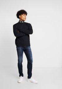 Calvin Klein Jeans - SKINNY - Jeans Skinny Fit - blue black - 1