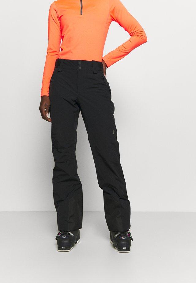 ANIMA PANTS - Snow pants - black