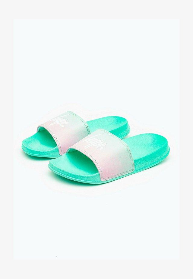 SPECKLE FADE - Pool slides - mint