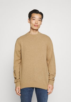 LAMBSWOOL O-NECK - Maglione - camel