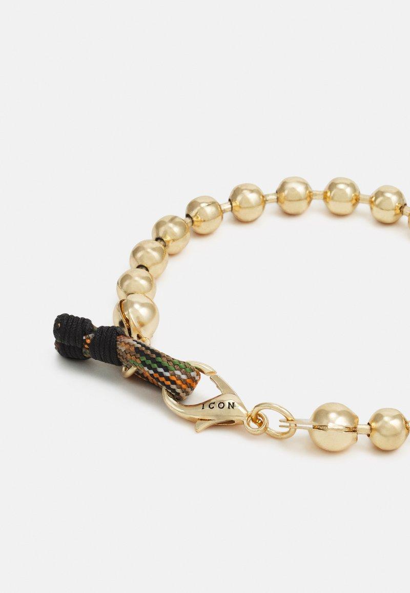 Icon Brand - BALL CHAIN LOOP BRACELET - Bracelet - gold-coloured