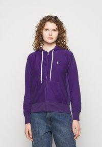 Polo Ralph Lauren - FEATHERWEIGHT - Zip-up sweatshirt - purple rage - 0