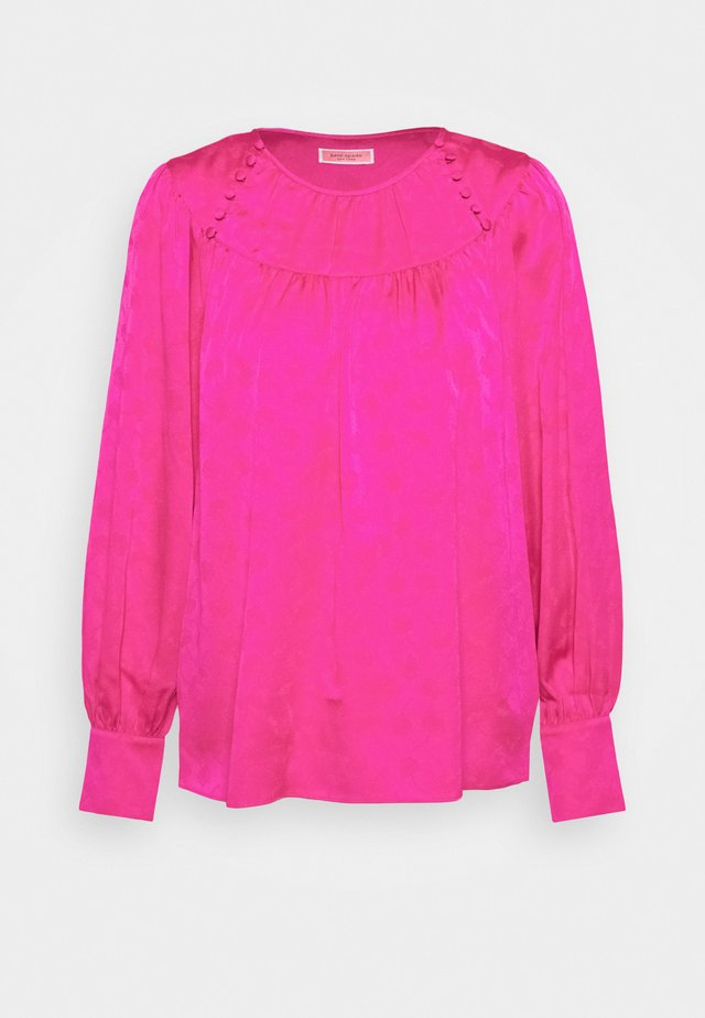 Blouse - magenta crush