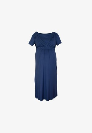 BAMBOO MATERNITY & NURSING  BASIC - Negligé - blue