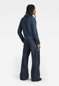 G-Star - GRIP 36 LOOSE - Flared Jeans - kara steel denim - raw denim - 2