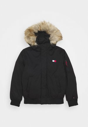TECH JACKET - Winterjas - black