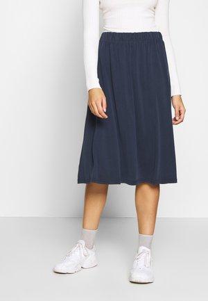 REGISSE - Áčková sukně - navy
