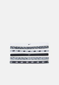 Nike Performance - PRINTED HEADBANDS 6 PACK - Other - white/white/white - 1