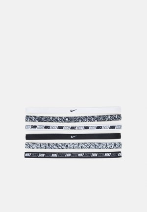 PRINTED HEADBANDS 6 PACK - Accessorio - white/white/white
