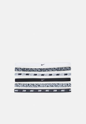 PRINTED HEADBANDS 6 PACK - Other accessories - white/white/white