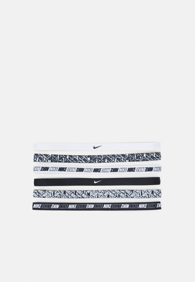 PRINTED HEADBANDS 6 PACK - Accessoires - white/white/white
