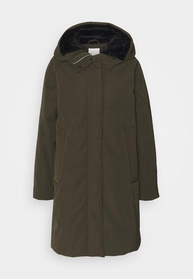 NETTE - Winter coat - army green