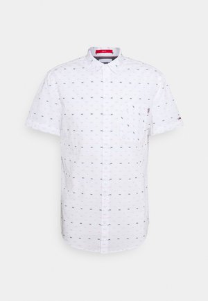 SHORT SLEEVE DOBBY  - Shirt - white