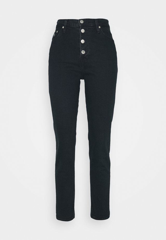 MOM - Relaxed fit jeans -  blue black shank