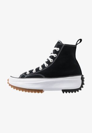 RUN STAR HIKE - High-top trainers - black/white/gum