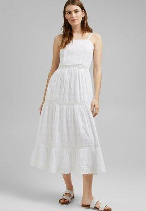 DOBBY  - Day dress - white