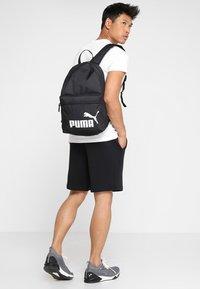 Puma - PHASE BACKPACK - Ryggsekk - puma black - 1