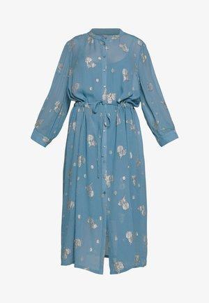 CHRISSIES - Vestido camisero - blue heaven