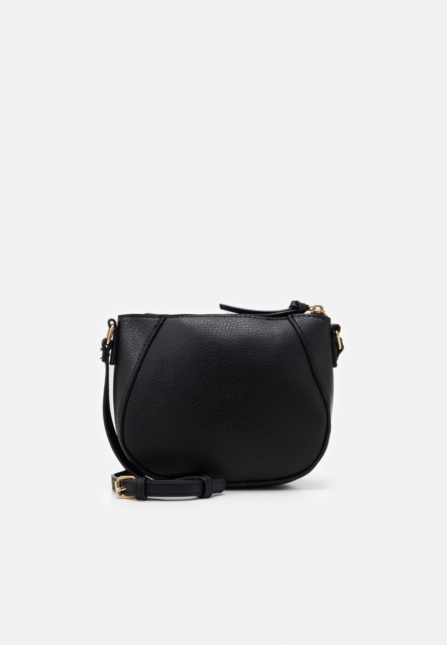 CURVED - Sac bandoulière - black