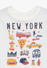GAP - TODDLER BOY CITY - Print T-shirt - new off white - 3