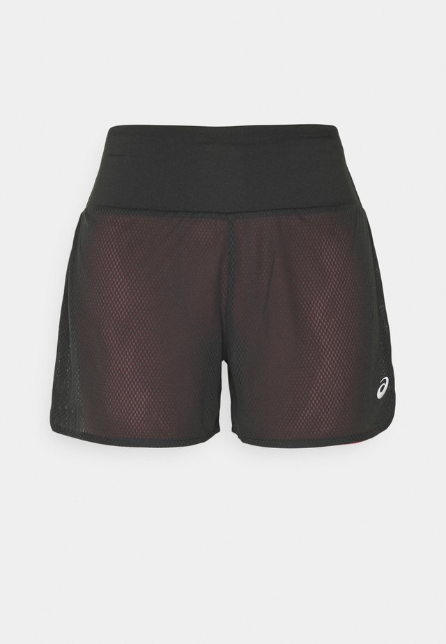 VENTILATE SHORT - Sports shorts - graphite grey/peach petal