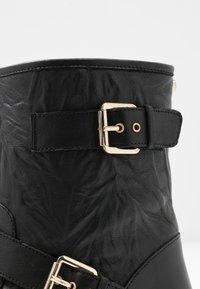 Faith - BIKE - Cowboy/biker ankle boot - black - 2