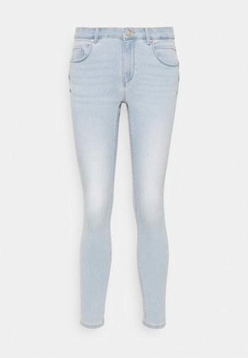 ONLDAISY LIFE PUSH UP  - Skinny džíny - light blue denim