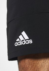 adidas Performance - AEROREADY TRAINING SHORTS - Sports shorts - black/white
