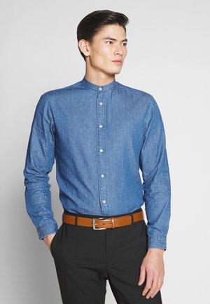SLHSLIMNOLAN  - Shirt - medium blue denim