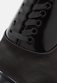 ALDO - GREENWAYS - Smart lace-ups - black - 5