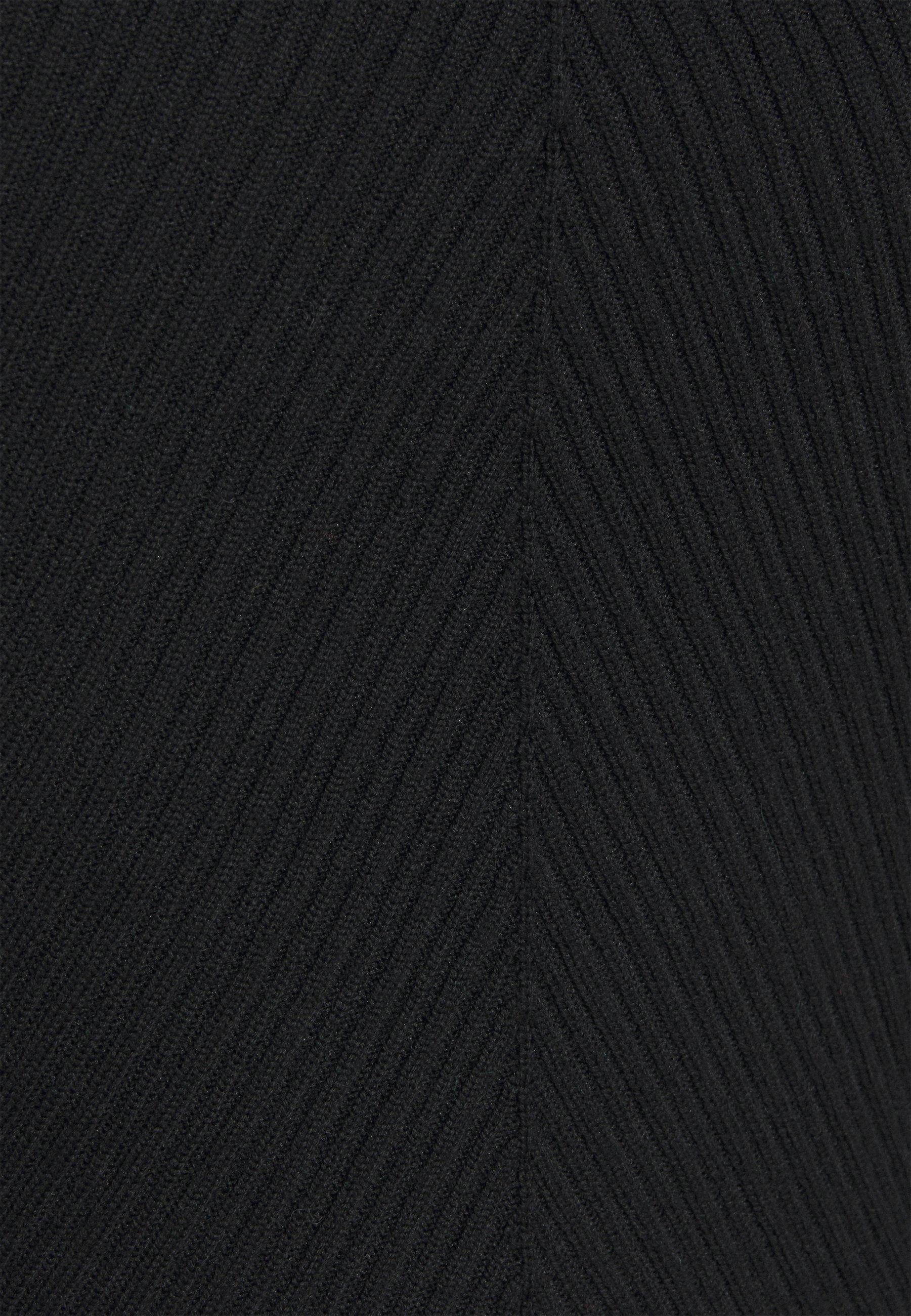 3.1 Phillip Lim Open Neck Sweater - Strikkegenser Black/svart