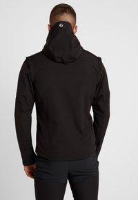 Icepeak - LEONIDAS - Soft shell jacket - black - 2