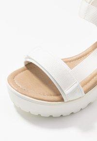 Koi Footwear - VEGAN - Platform sandals - white - 2