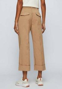 BOSS - TAROMA - Trousers - beige - 2