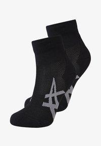 ASICS - CUSHIONING 2 PACK - Sportovní ponožky - performance black - 0