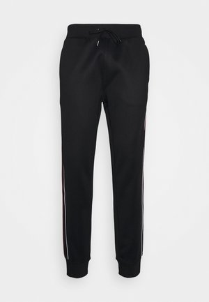 LUX TRACK - Tracksuit bottoms - black