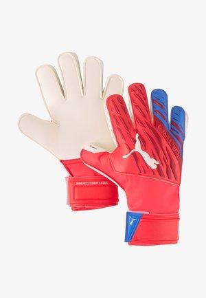 EQUIPMENT TORWARTHANDSCHUHE ULTRA - Goalkeeping gloves - rotweiss