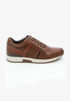 WAFFEL - Sneakers laag - cognac