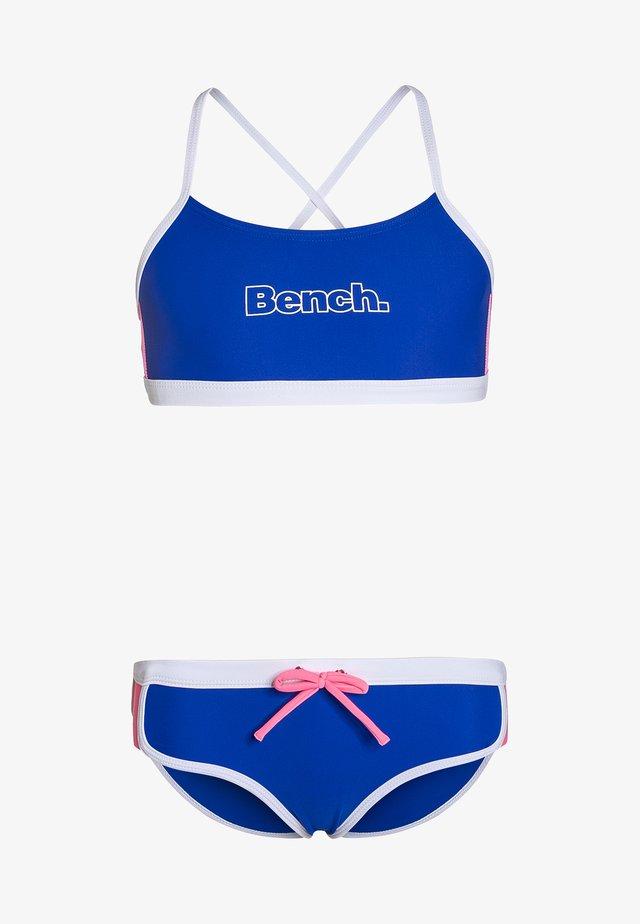 Bikinit - blue/pink