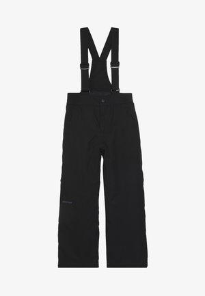ALENKO JUNIOR - Zimní kalhoty - black
