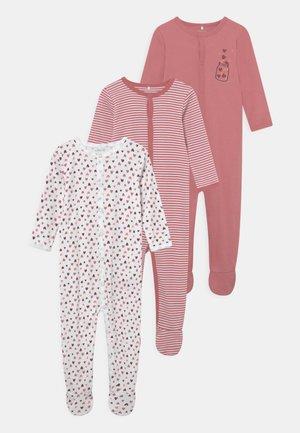 NBFNIGHTSUIT 3 PACK - Sleep suit - dusty rose