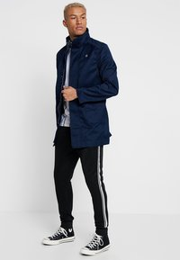G-Star - GARBER SERVICE TRENCH - Short coat - sartho blue - 1