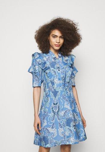 Day dress - multicolor blue