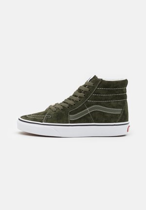 SK8 UNISEX - High-top trainers - olive/true white