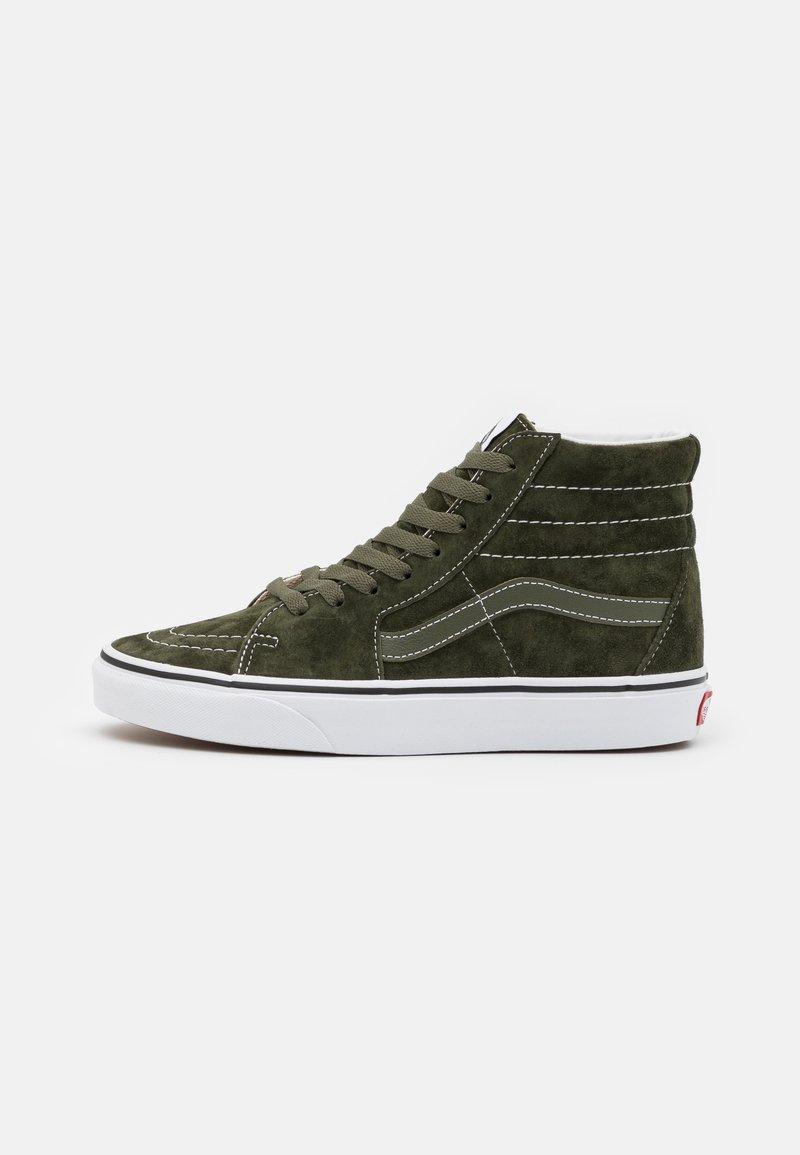 Vans - SK8-HI UNISEX - Sneakers hoog - olive/true white